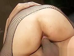 Delightful Japanese threesome sex