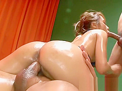 Wicked Japanese group sex