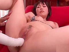Cute Hiraku Kirameki get beaver licked and fucked
