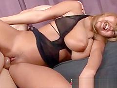 Big natural tits Japanese girl gets laid
