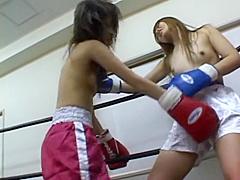 Japan Boxing Catfight 001