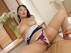 Gorgeous hinata komine enjoys sex with a random pal