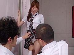 Raunchy japanese floosy moe sakura cant get enough of fuck