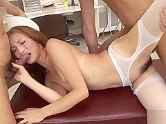 Shiori Ayase loves cock in her furry pussy and ass - More at javhd net