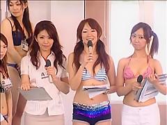 Girls VS Employees Swim Meet