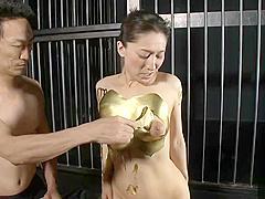 Sexy Japanese mom Marina Matsumoto asshole fucked