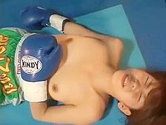 Japanese KickBoxing Catfight 0684