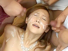 Horny adult clip Japanese unbelievable show