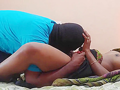 FINALLY FUCKS HIS BEST INDIAN FRIENDS WIFE CUMS ON BELLY