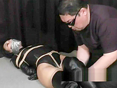 japanese agent restrained