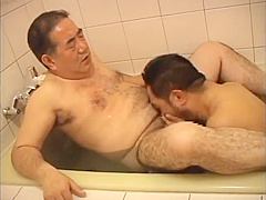 Hairy Japanese Old Daddy