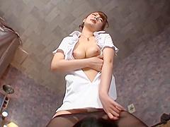 Japanese Pantyhose Cunnilingus Fetish Part 7