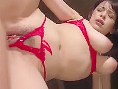 Food fetish bitch plays sex