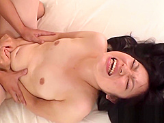 Exclusive gangbang for sexy oriental