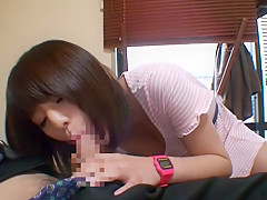 Horny Japanese whore Miyu Hoshisaki in Crazy medium tits, handjobs JAV movie