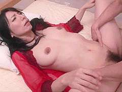 Mature JAV call girl likes it hot