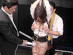Astonishing sex video Hogtied craziest , take a look