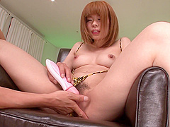 Hara Fucked With An Asian Dildo And Gets A Facial