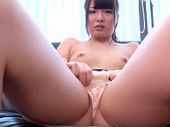 Japanese Riding Dildo In Special Solo Porn Play