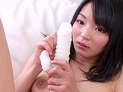 Hairy Babe Konoha Enjoying Japanese Dildo