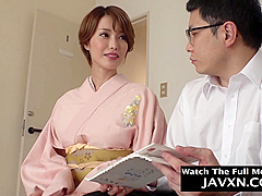Beautiful Asian MILF Fucked By Stepson #7