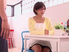 Best Japanese slut Mana Sakura in Incredible college, blowjob JAV clip