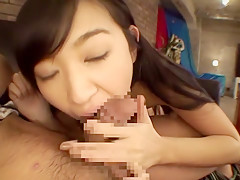 Amazing Japanese model Nana Ogura in Fabulous fingering, rimming JAV scene