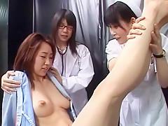 Exotic Japanese model Mimi Kohsaka, Minori Magokoro, Kumi Tachibana in Crazy Softcore JAV clip