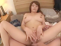 Hottest Japanese model Megu Fujiura in Incredible Doggy Style, Big Tits JAV movie