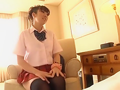 Incredible Japanese whore Hina Tokisaka in Hottest Stockings/Pansuto JAV movie