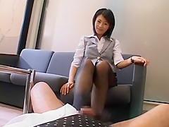 Amazing Japanese chick Sasa Handa in Best POV, Foot Fetish JAV movie