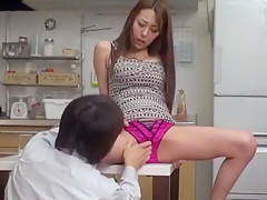 Exotic Japanese model Akari Minamino in Amazing JAV movie
