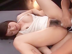 Hottest Japanese whore Yuzuka Kinoshita in Crazy Doggy Style, Fingering JAV video