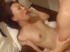 Fabulous Japanese girl Ryoko Murakami, Mari Hosokawa, Natsumi Horiguchi in Hottest Small Tits, Cunnilingus JAV video