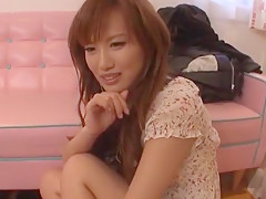 Best Japanese girl Rio Fujisaki in Amazing Threesomes, Dildos/Toys JAV movie