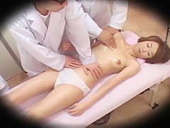 Hottest Japanese chick in Amazing Voyeur, Massage JAV movie