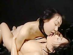 Best Japanese slut in Fabulous Lesbian/Rezubian JAV clip