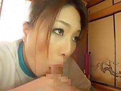 Horny Japanese slut Reina Nakama, Hitomi Yuki, Sumire Shiratori in Crazy CFNM JAV scene