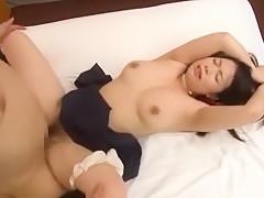 Horny Japanese model An Shinohara in Exotic College/Gakuseifuku, Masturbation/Onanii JAV scene