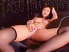 Horny Japanese model Anna Akizuki in Exotic Solo Girl, Stockings/Pansuto JAV video