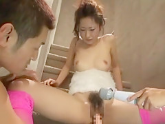 Amazing Japanese chick Arisa Suzufusa in Hottest Masturbation/Onanii, Dildos/Toys JAV video