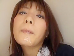 Exotic Japanese model Akane Ozora in Hottest Cumshots, Showers JAV scene