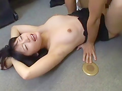 Amazing Japanese model Marina Fujimoto in Horny Office, POV JAV clip