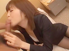 Horny Japanese chick Yuuna Ozawa, Rinka Aiuchi, Yuu Yasuda in Exotic Deep Throat, Blowjob/Fera JAV movie