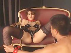 Exotic Japanese whore Mao Odagiri in Best Stockings/Pansuto, Dildos/Toys JAV clip