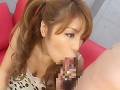 Crazy Japanese slut Nanami Takase in Amazing Masturbation/Onanii, Girlfriend JAV movie