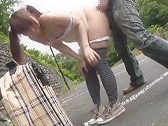 Horny Japanese girl Arisu Suzuki in Crazy Small Tits, Doggy Style JAV clip