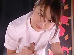 Fabulous Japanese girl Megumi Shino in Hottest Handjobs, Blowjob/Fera JAV movie