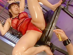 Best Japanese slut Yuri Sato 2 in Hottest BDSM, Masturbation/Onanii JAV movie