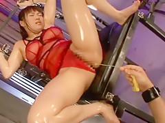 Best Japanese slut Yuri Sato 2 in Hottest BDSM, Masturbation/Onanii JAV movie